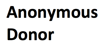 Anonymous Donor